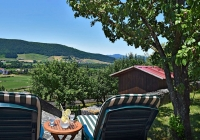 Jardin de la parte trasera - Casa Rural Pedronea