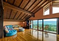 Salón-relax con chimenea - Primera Planta - Casa Rural Pedronea