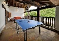 Terraza con zona de juegos - Primera Planta - Casa Rural Pedronea